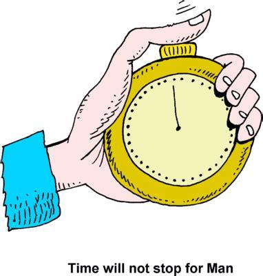 Essay time waits for no man